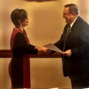 New State Senator, Cathy Breen