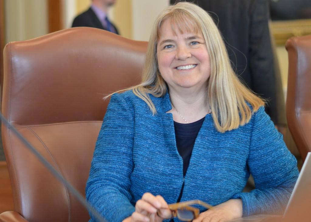 Senator Rebecca Millett.