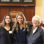 Sen. Herbig welcomes Senate Page from Knox to State House