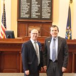 """Sen. Chipman welcomes local """"Doctor of the Day"""" to the Maine Senate"""
