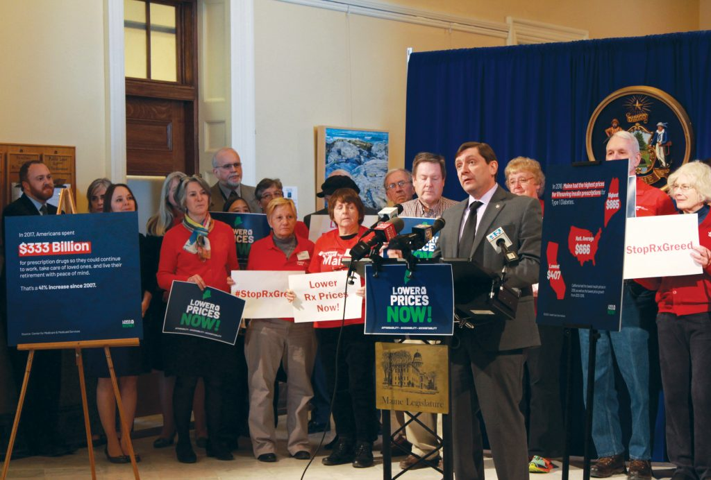 Jackson, Maine Senate Democrats roll out ambitious prescription drug reform proposal