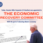 Sen. Carpenter appointed to Economic Recovery Committee