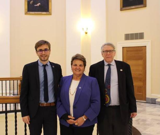 Sen. Deschambault introduces bill to commemorate Franco-American history